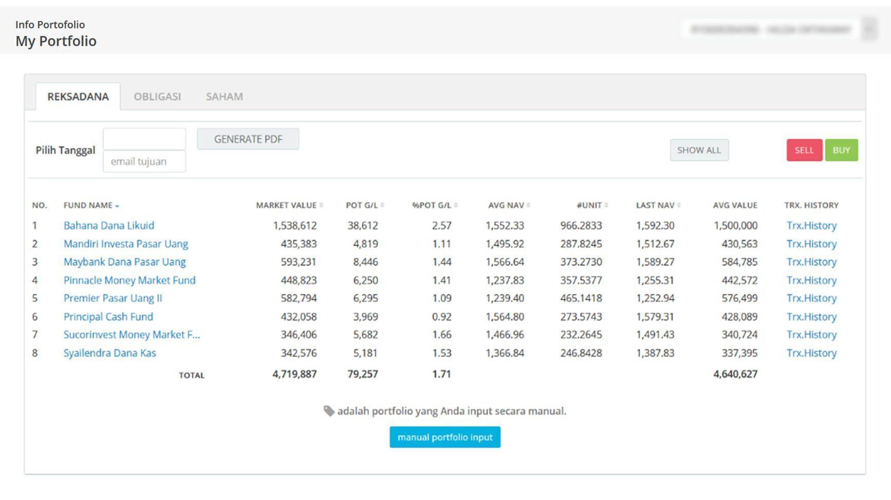 Screenshot Perkembangan Investasi Saham - Day 136, Jumat, 10 Juli 2020 BDL & PPO
