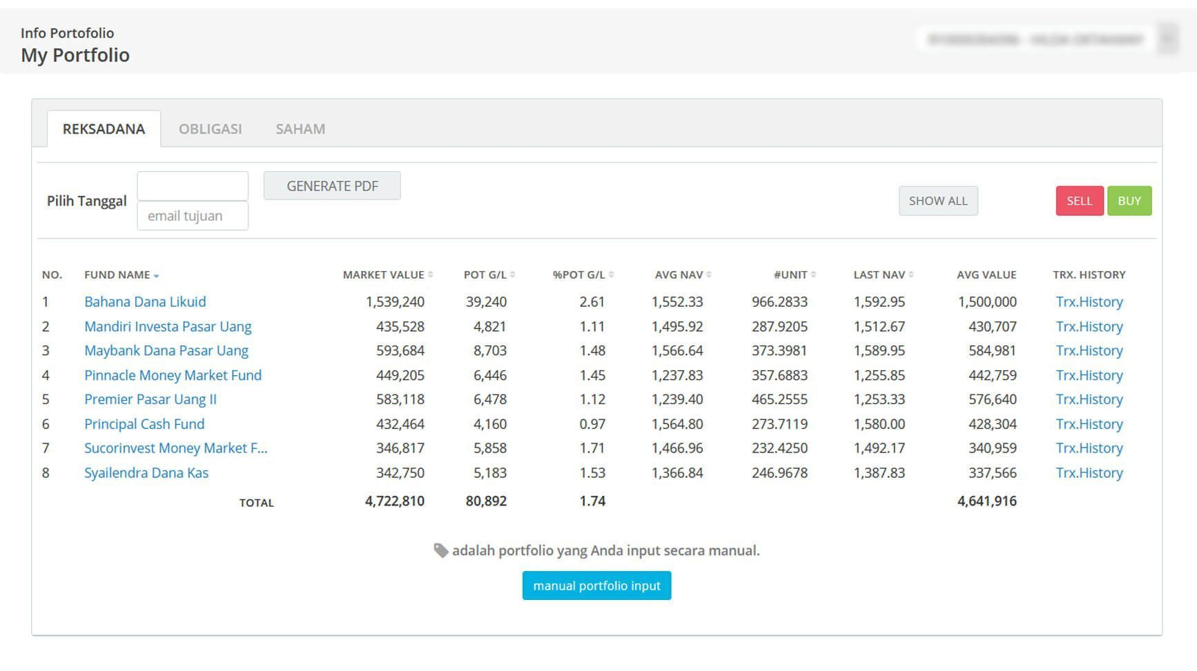 Screenshot Perkembangan Investasi Saham - Day 137, Senin, 13 Juli 2020 BDL & PPO