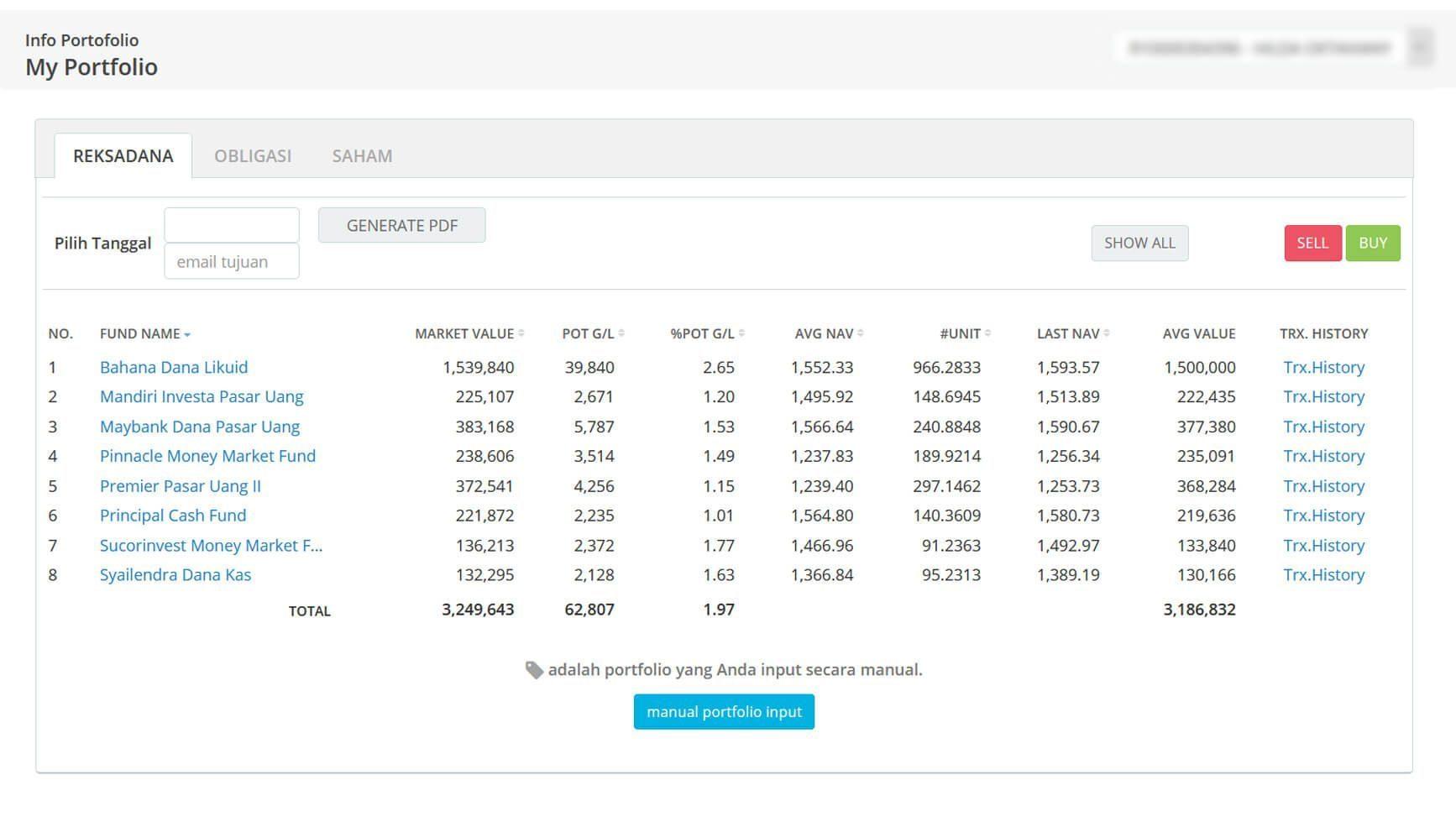 Screenshot Perkembangan Investasi Saham - Day 140, Kamis, 16 Juli 2020 BDL & PPO