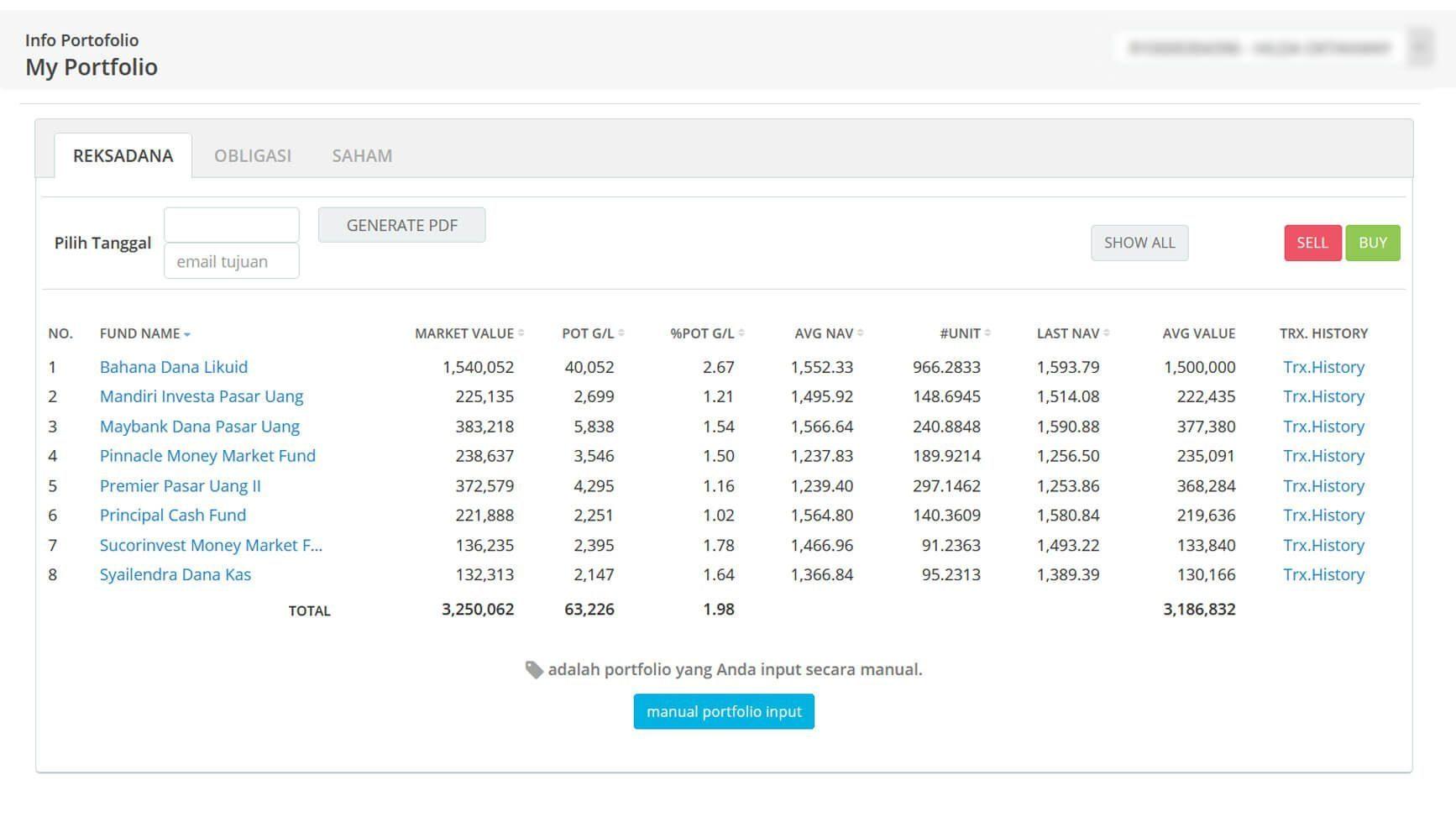 Screenshot Perkembangan Investasi Saham - Day 141, Jumat, 17 Juli 2020 BDL & PPO