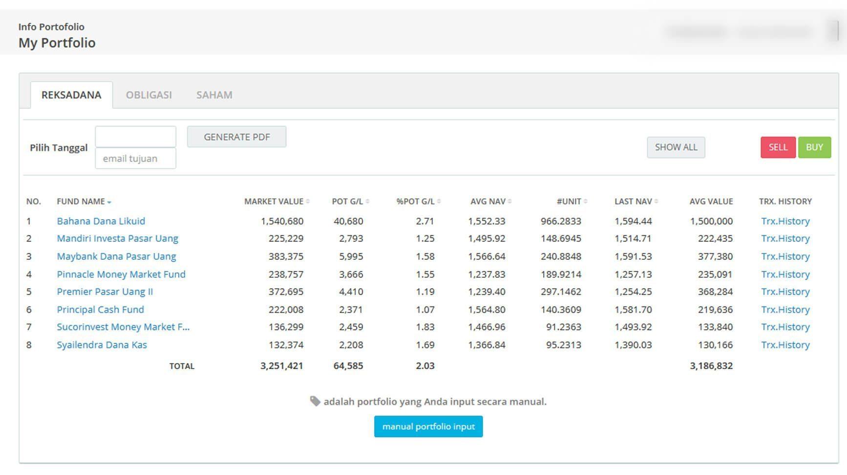 Screenshot Perkembangan Investasi Saham - Day 143, Selasa, 21 Juli 2020 BDL & PPO