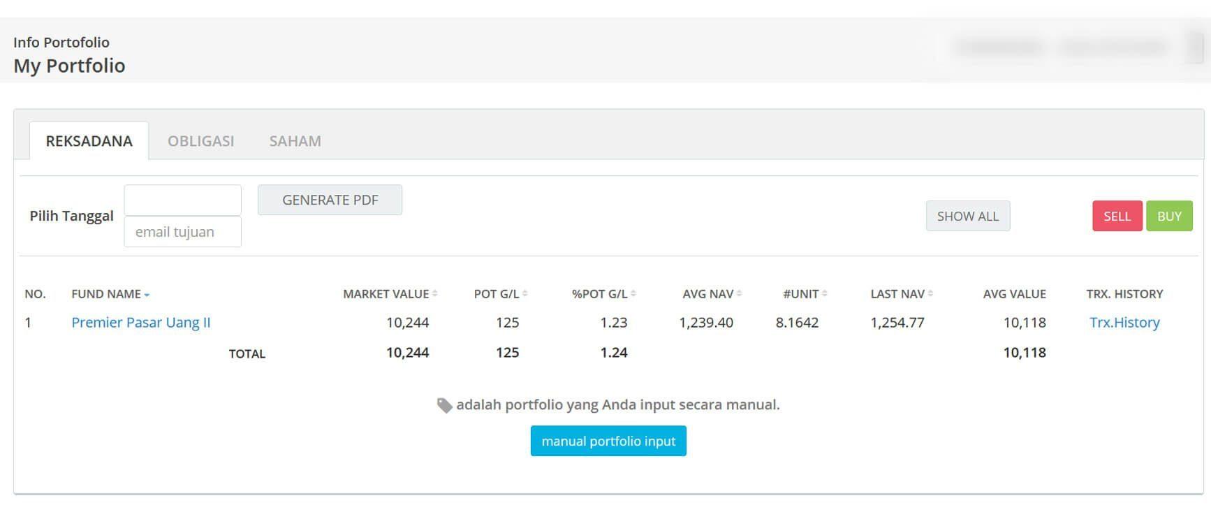 Screenshot Perkembangan Investasi Saham - Day 147, Senin, 27 Juli 2020 BDL & PPO