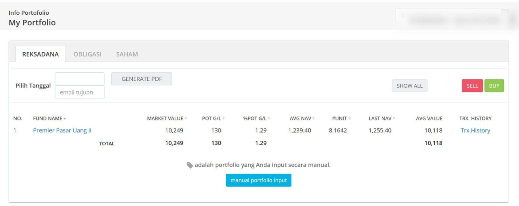 Screenshot Perkembangan Investasi Saham - Day 149, Rabu, 29 Juli 2020 BDL & PPO