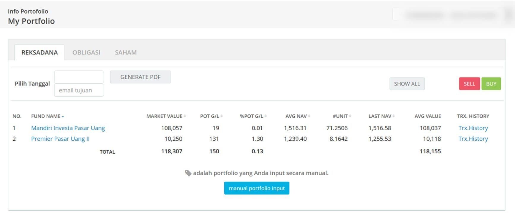 Screenshot Perkembangan Investasi Saham - Day 151, Senin, 3 Agustus 2020 BDL & PPO