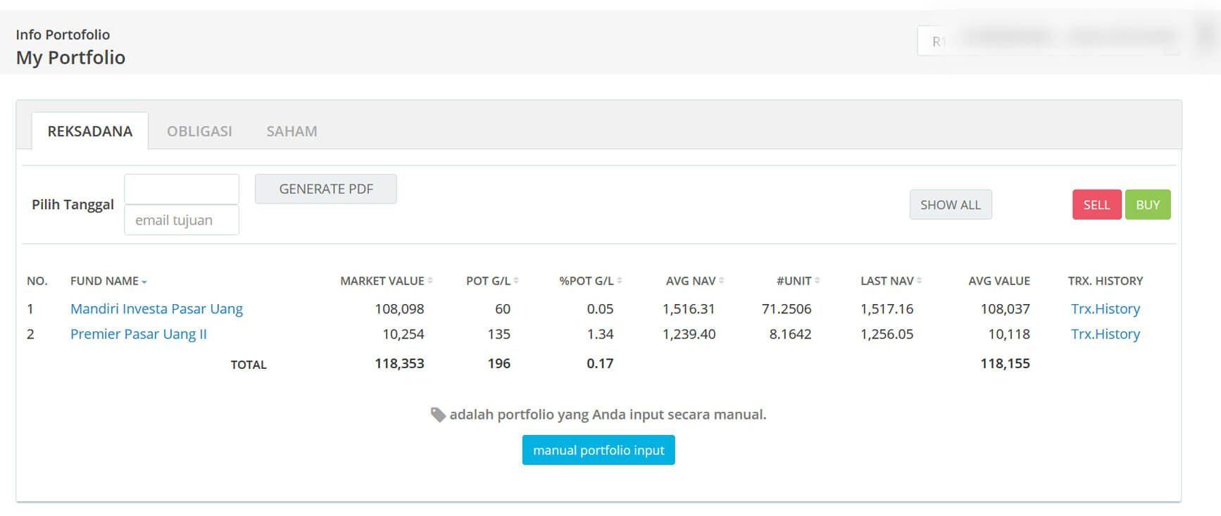 Screenshot Perkembangan Investasi Saham - Day 152, Selasa, 4 Agustus 2020 BDL & PPO