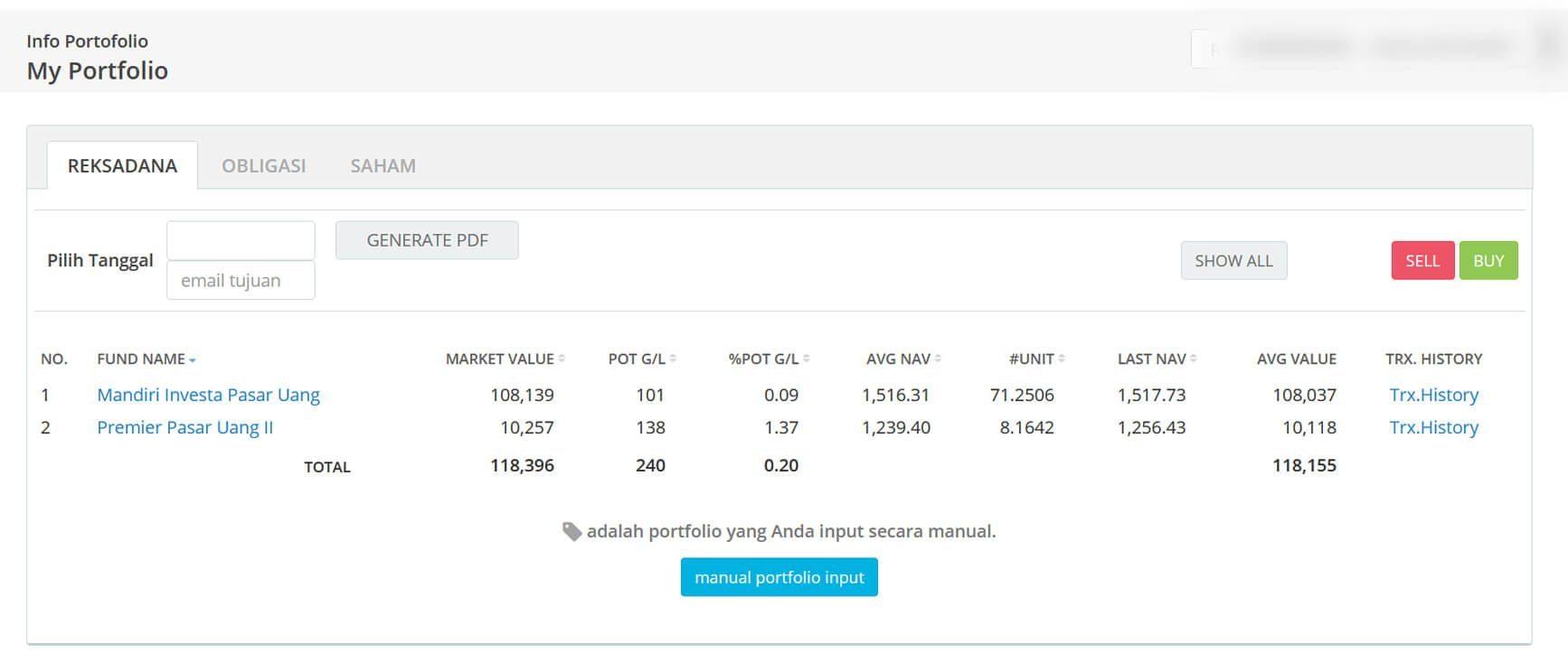 Screenshot Perkembangan Investasi Saham - Day 155, Jumat, 7 Agustus 2020 BDL & PPO