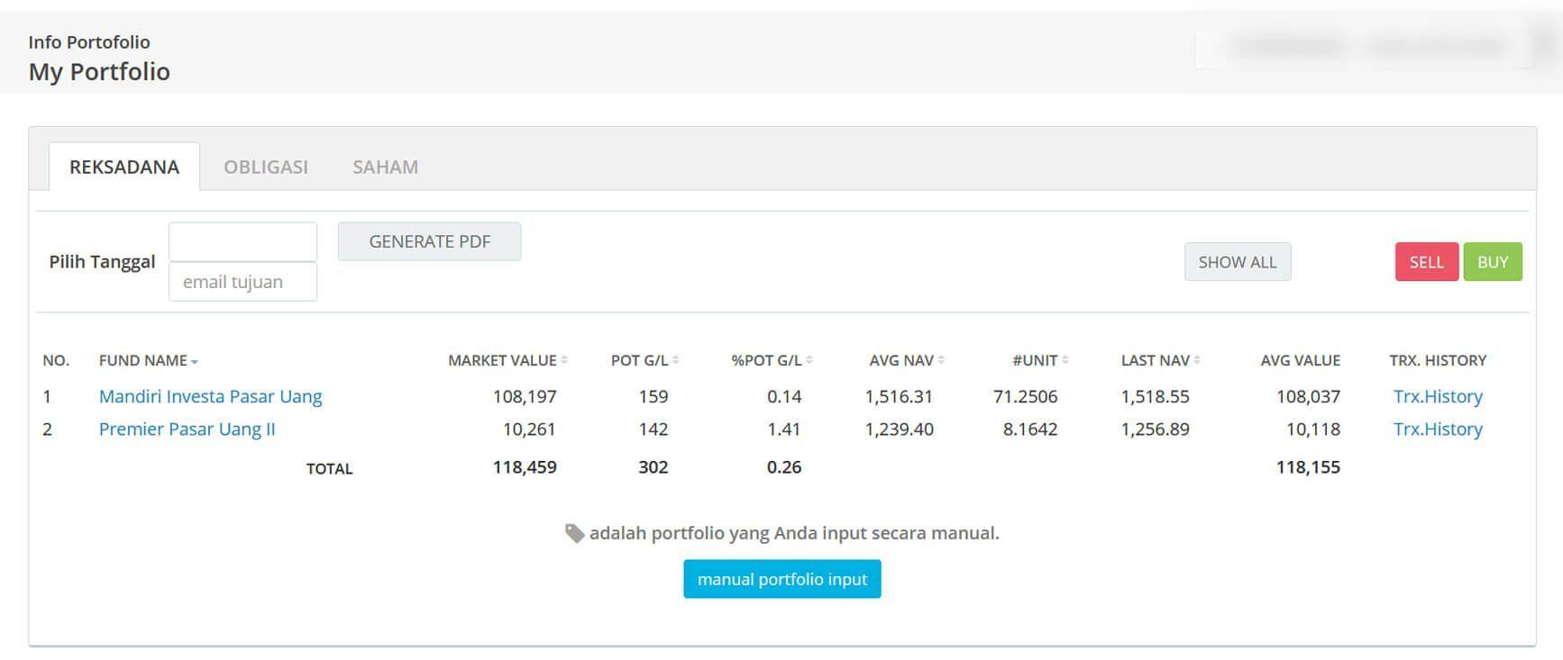 Screenshot Perkembangan Investasi Saham - Day 156, Senin, 10 Agustus 2020 BDL & PPO