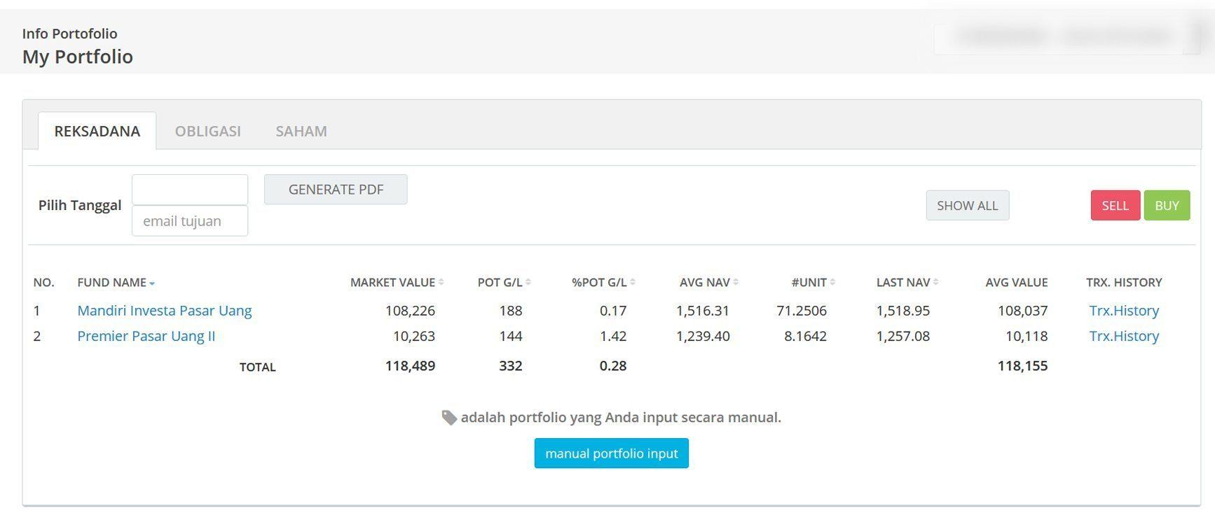 Screenshot Perkembangan Investasi Saham - Day 158, Rabu, 12 Agustus 2020 BDL & PPO