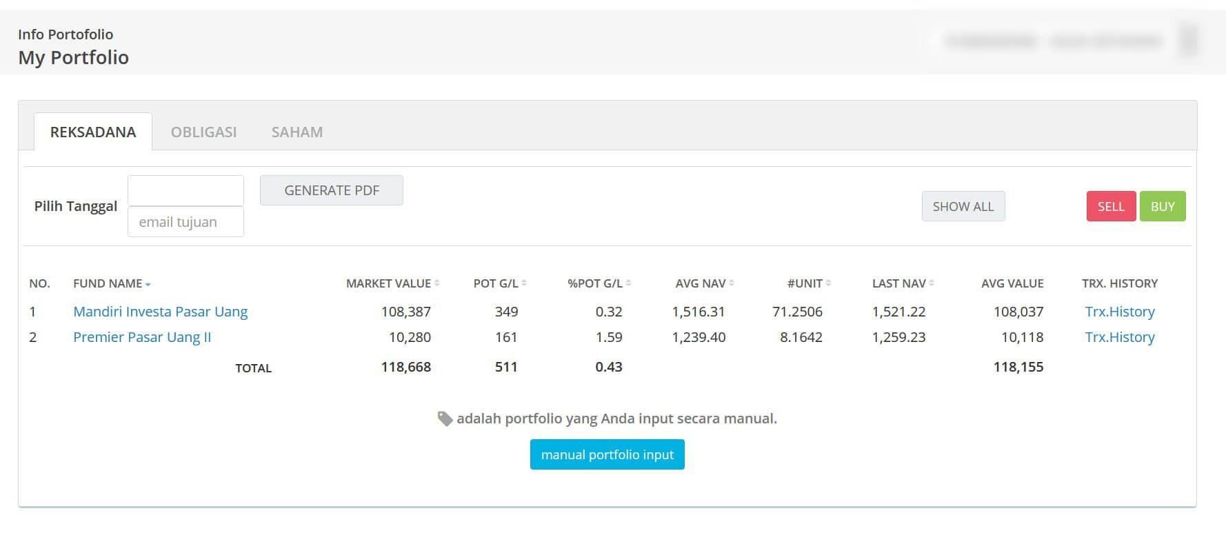 Screenshot Perkembangan Investasi Saham - Day 163, Kamis, 24 Agustus 2020 BDL & PPO