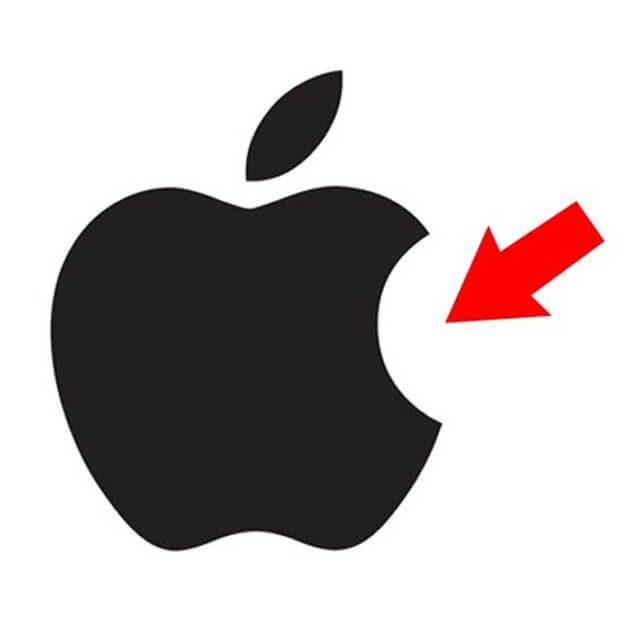 Pesan tersembunyi dibalik logo Apple