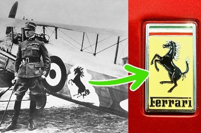 Pesan tersembunyi dibalik logo Ferrari