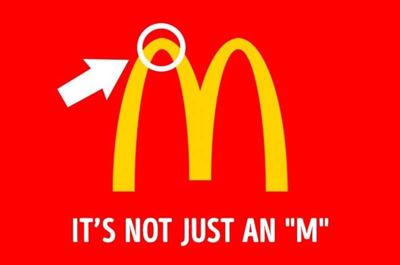 Pesan tersembunyi dibalik logo McDonald