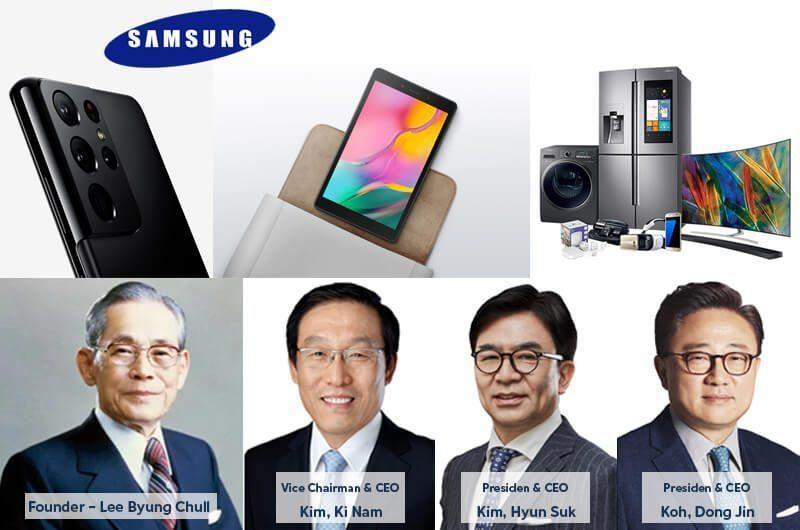 Pendiri, Para CEO dan Nilai Valuasi Perusahaan Samsung Senilai $94B