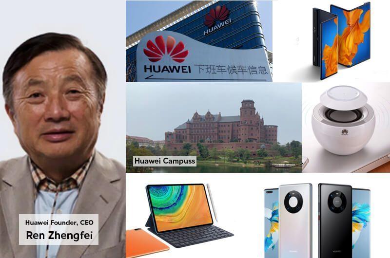 Ren Zhengfei dan Huawei dengan Nilai Valuasinya Senilai $65B
