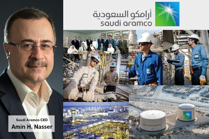 Amin H. Nasser - Saudi Aramco CEO dan Nilai Perusahaan Saudi Aramco Sebesar $47B