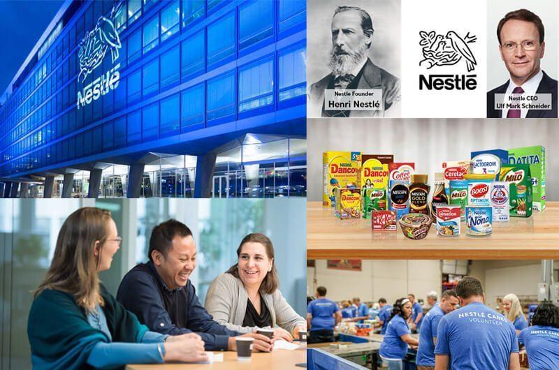 Hendri Nestle - Nestle Founder, Ulf Mark Schneider - Nestle CEO dan Valuasi Nestle Sebesar $21B